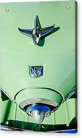 1951 Studebaker Commander Hood Ornament Acrylic Print by Jill Reger