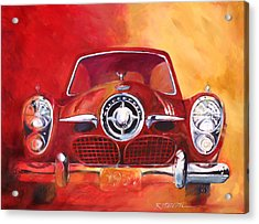 1951 Studebaker Acrylic Print by Ron Patterson