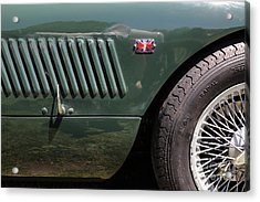1952 Jaguar Xk120 Roadster 5d22972 Acrylic Print by Wingsdomain Art and Photography