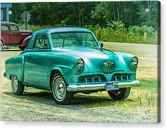 1952 Studebaker Acrylic Print by Barry Jones