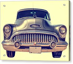1953 Buick Roadmaster Acrylic Print by Edward Fielding