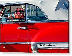1953 Chevrolet Belair Convertible Acrylic Print by Jill Reger