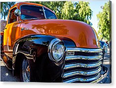 1953 Chevrolet Pickup Acrylic Print by Steve Benefiel