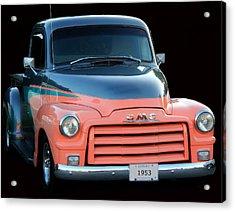 1953 Gmc Pick-up Acrylic Print