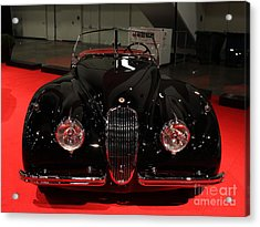 1953 Jaguar Xk 120 Se Roadster - 5d19930 Acrylic Print by Wingsdomain Art and Photography