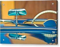 1954 Chevrolet Corvette Steering Wheel -311c Acrylic Print