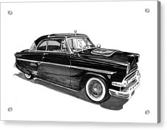 1954 Ford Skyliner Acrylic Print by Jack Pumphrey