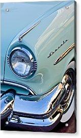 1954 Lincoln Capri Headlight Acrylic Print by Jill Reger