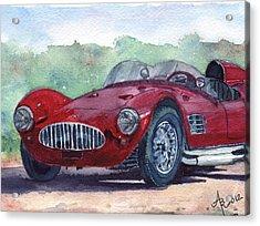 1954 Maserati A6 Gsc Tipo Mm Acrylic Print