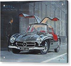 1954 Mercedes Benz 300 Sl Gullwing Acrylic Print