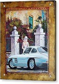 1954 Mercedes Benz Sl 300 Gullwing Acrylic Print