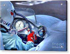 1954 Mercedes-benz W196  Acrylic Print by J A Evans