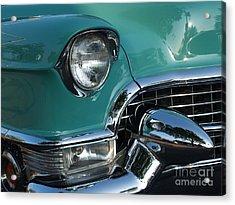 1955 Cadillac Coupe De Ville Closeup Acrylic Print