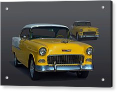 1955 Chevrolet Bel Air Hot Rod Acrylic Print