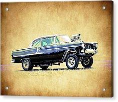 1955 Chevy Gasser Acrylic Print