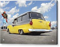 1955 Ford Parkline Low Acrylic Print by Mike McGlothlen