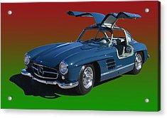 1955 Mercedes Benz 300 S L  Acrylic Print