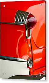 1955 Oldsmobile Taillight Acrylic Print by Jill Reger