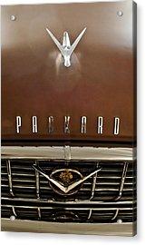 1955 Packard 400 Hood Ornament Acrylic Print