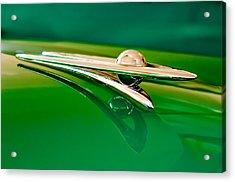 1955 Packard Clipper Hood Ornament 3 Acrylic Print by Jill Reger