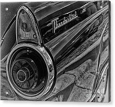 1955 Thunderbird Acrylic Print by JRP Photography
