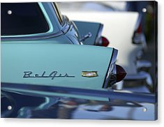 1956 Chevrolet Belair Nomad Rear End Acrylic Print by Jill Reger