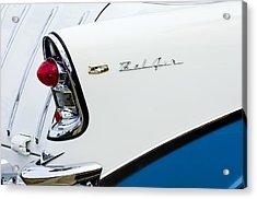 1956 Chevrolet Belair Tail Light Acrylic Print by Jill Reger
