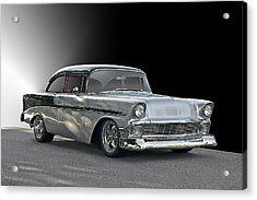 1956 Chevrolet 'post' Coupe Acrylic Print by Dave Koontz