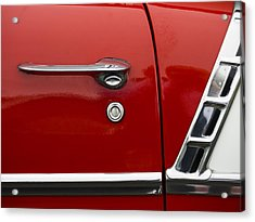 1956 Chevy Door Detail Acrylic Print