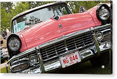 Acrylic Print featuring the photograph 1956 Classic Car by Mick Flynn