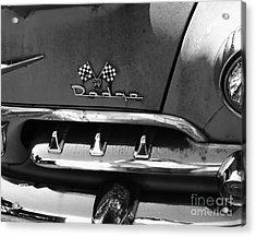 1956 Dodge 500 Series Photo 2 Acrylic Print by Anna Villarreal Garbis