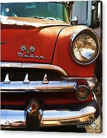1956 Dodge 500 Series Photo 5b Acrylic Print by Anna Villarreal Garbis