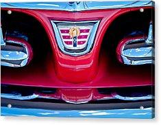 1956 Dodge Royal Lancer Emblem Acrylic Print