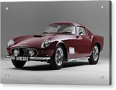 Acrylic Print featuring the photograph 1956 Ferrari Gt 250 Tour De France by Gianfranco Weiss
