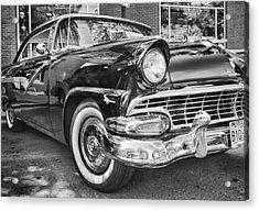 1956 Ford Fairlane Acrylic Print by Theresa Tahara