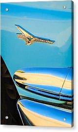 1956 Ford Fairlane Thunderbird Emblem Acrylic Print by Jill Reger