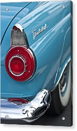 1956 Ford Thunderbird Taillight And Emblem Acrylic Print by Jill Reger