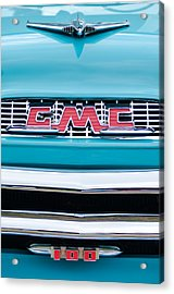 1956 Gmc 100 Deluxe Edition Pickup Truck Acrylic Print by Jill Reger