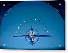 1956 Lincoln Continental Mark II Emblem Acrylic Print by Jill Reger