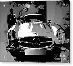 1956 Mercedes Benz 300 Sl Gullwing Acrylic Print