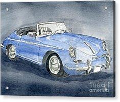 1956 Porche 356b Roadster Acrylic Print