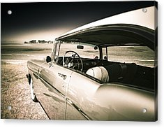 1957 Chev Bel Air Acrylic Print by motography aka Phil Clark