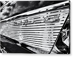 1957 Chevrolet Bel Air Monochrome Acrylic Print by Tim Gainey