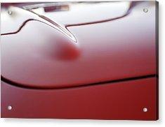1957 Chevrolet Corvette Convertible Hood Acrylic Print
