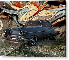 1957 Chevy Bel Air Acrylic Print