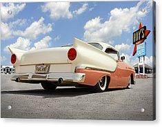 1957 Ford Fairlane Lowrider 2 Acrylic Print by Mike McGlothlen