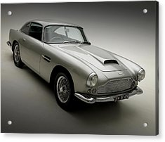 Acrylic Print featuring the photograph 1958 Aston Martin Db4 by Gianfranco Weiss