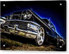 1958 Buick Century Acrylic Print by motography aka Phil Clark