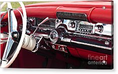 1958 Buick Special Dashboard Acrylic Print by Tim Gainey