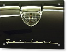 1958 Ford Fairlane 500 Victoria Hood Ornament Acrylic Print